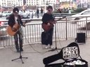 街头吉他弹唱歌曲:风往北吹