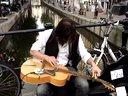 牛掰街头艺人blues蓝调吉他滑音演奏视频